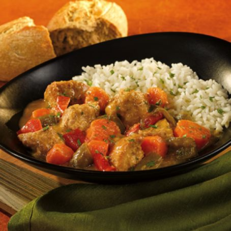 Slow-Cooked Salsa Verde Pork & Pepper Stew W. W. Points Plus 15