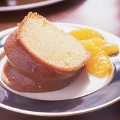Orange Soaked Bundt Cake