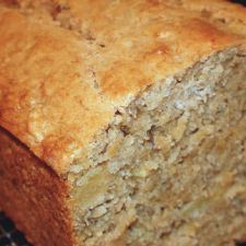 Tropical Pineapple Coconut Banana Bread - Quick Bread