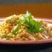 Smoked Turkey and White Bean Casserole with Herbed Crumb Topping