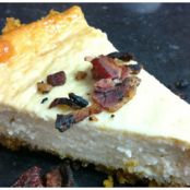 Maple Bacon Cheesecake-Dairy Free