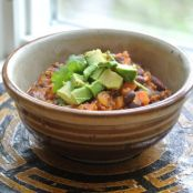 Chili - Sweet Potato & Quinoa Chili