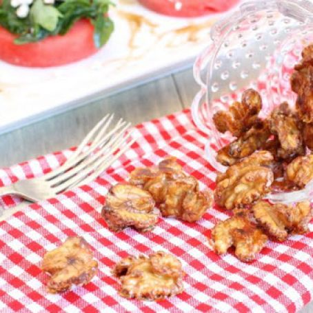 candy - Spiced Candied Walnuts