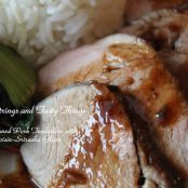 Pan-Seared Pork Tenderloin with Hoisin-Sriracha Glaze