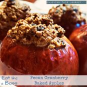 Pecan Cranberry Baked Apples