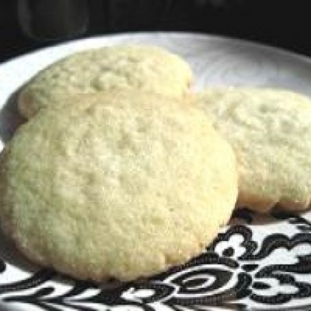 WHITE CHOCOLATE SUGAR COOKIES