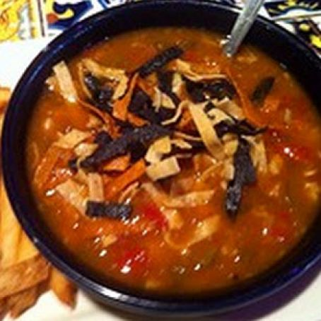 Chili's Southwest Chicken & Sausage Soup