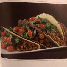 Blue Corn Chickpea Tacos