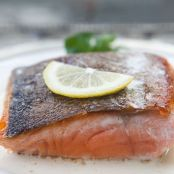 Salmon with Messine Sauce