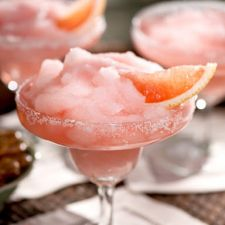 Ruby Red Florida Grapefruit Margarita