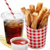 April Fools' Fries Cinnamon-Sugar Sticks