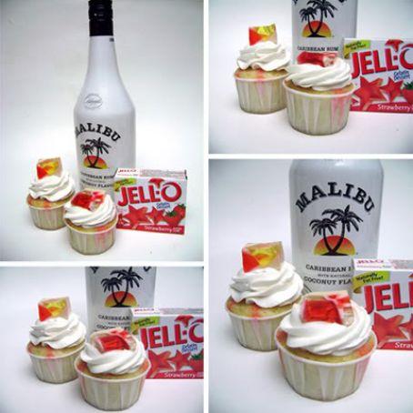 Enjoyable Jello Shot Cupcakes Recipe 4 4 5 Funny Birthday Cards Online Chimdamsfinfo