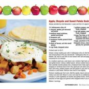 Apple, Chayote and Sweet Potato Hash