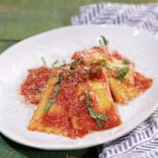 Ricotta Ravioli with 3-Minute Marinara