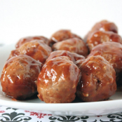 Barbeque Turkey Meatballs