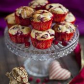 Cranberry and White Chocolate Muffins