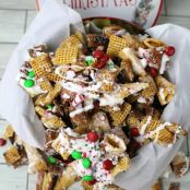 Chex Mix Christmas Crack