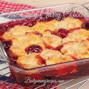 Too Easy Cherry Cobbler
