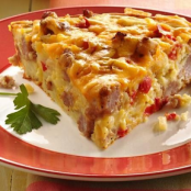 Breakfast Pie - Impossibly Easy Sausage