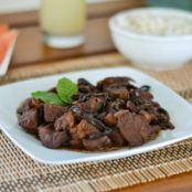 Humba - Filipino Braised Pork with Black Beans
