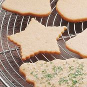 Gluten-Free Star Cut-Out Cookies