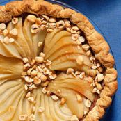 Black Bottom Pear Pie