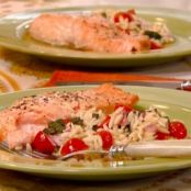 Honey Mustard Glazed Salmon Fillets