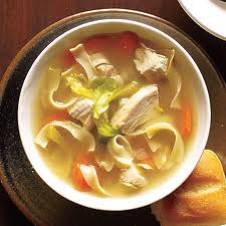Quick Chicken Noodle Soup