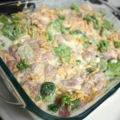 Mom's Creamy Chicken & Broccoli Casserole
