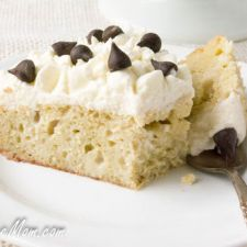 Sugar Free Low Carb Tres Leches Cake