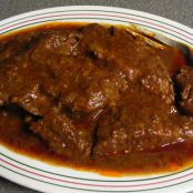 Crock Pot Roast and Tomato Gravy