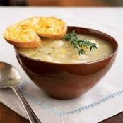 Potato Leek Soup (Julia Child's) Potage Parmentier