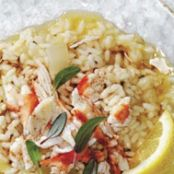 Browned Butter Crab Risotto
