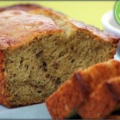 Reduced Sugar Banana Bread with Truvia