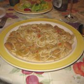Linguine with Cabbage and Butter Beans
