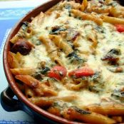 Make Ahead Italian Sausage & Pasta Bake