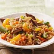 Beef and Vegeletable Fried Rice