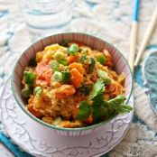Spaghetti Squash Fried Rice