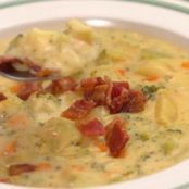 Loaded Broccoli Potato Cheddar Soup