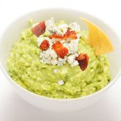 Guacamole with Blue Cheese & Bacon