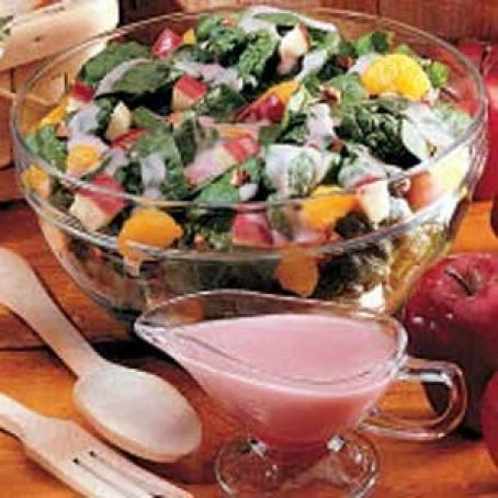 Fruited Spinach Salad