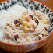 Crock Pot Santa Fe Cream Cheese Chicken