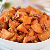 Butter-Pecan Roasted Sweet Potatoes