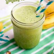 Banana Spinach Smoothie | Green Smoothie Recipe