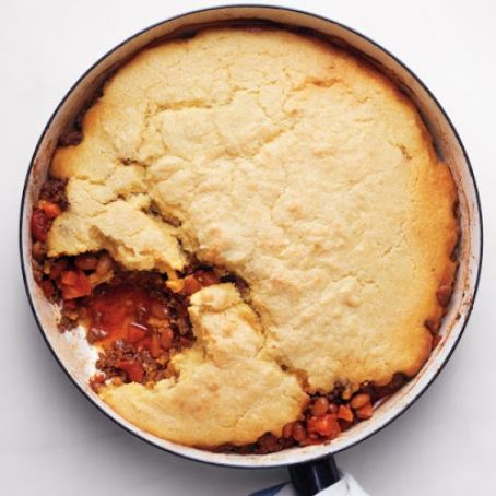 Cornbread-And-Chili Pie