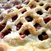 Strawberry Rhubarb Pie and Buttery, Flaky Pie Crust