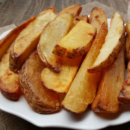 Potatoes-Thrice-Cooked Fries