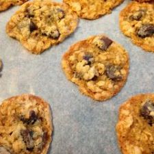 Chocolate Chip and Coconut Oatmeal Cookies, Daphne Oz's