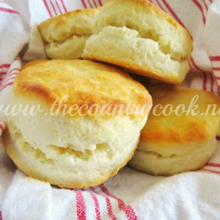 CREAM BISCUITS {country cook}