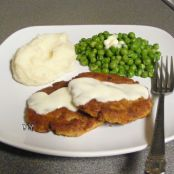 Potato Salmon Cakes with Lemon Sauce